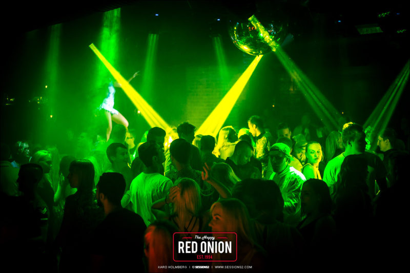 The Happy Red Onion